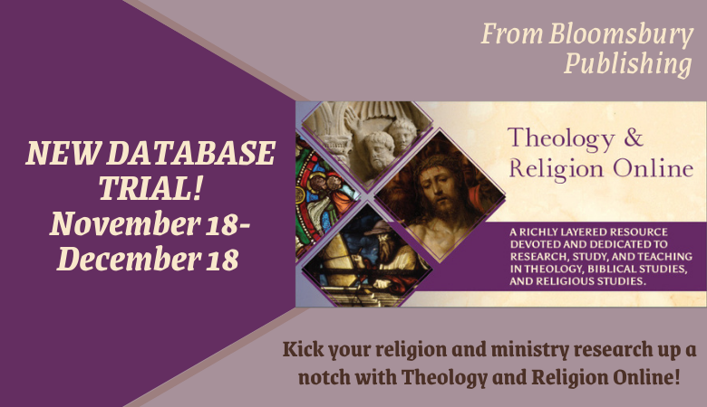 Theology and Religion Database