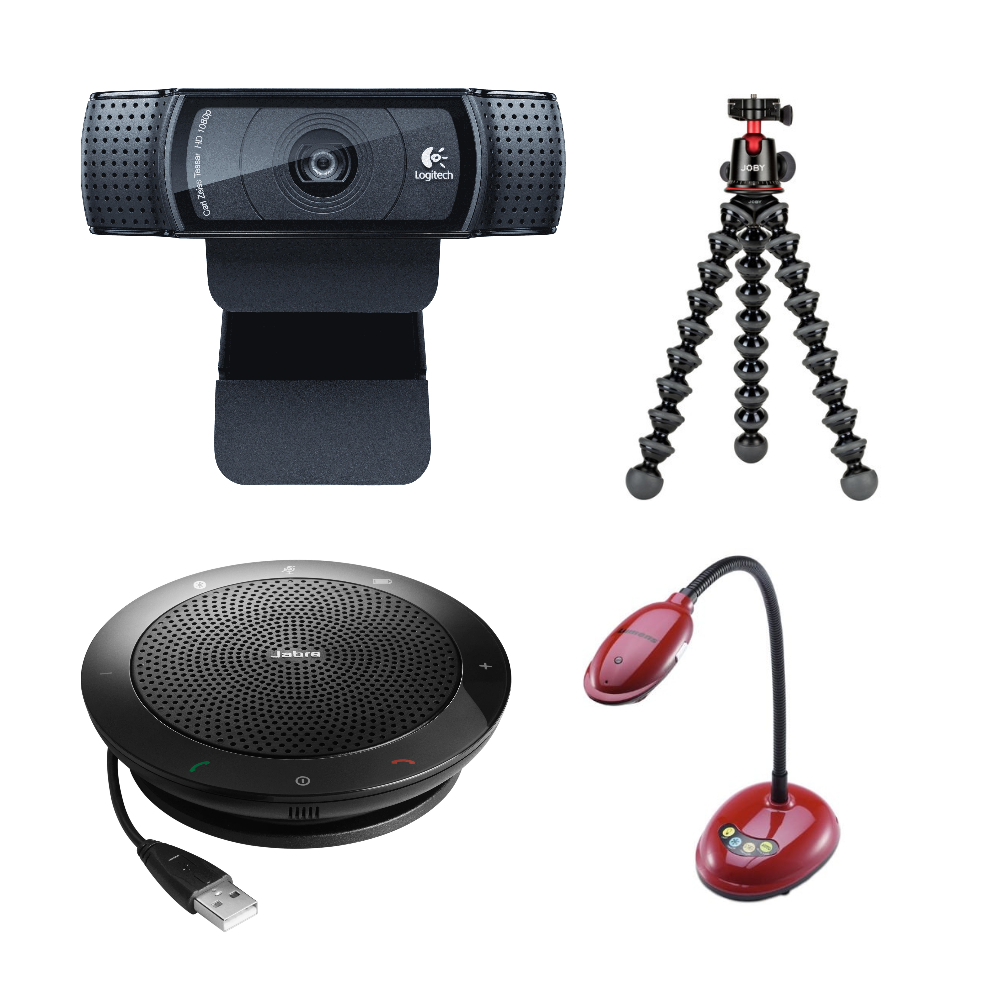 portable web conferencing kit